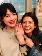 相沢まき、スザンヌらから結婚・誕生日のお祝い「嬉しくて泣けます」