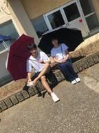夏木マリ、運動着姿の有村架純の『中学聖日記』オフショットを公開