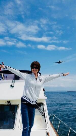 吉澤ひとみ、家族で東京湾クルーズ「人間って生き物は自然には勝てない」
