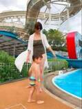 hitomi、ママ友と子どもを連れプールへ「良い夏の思い出が出来ました~」
