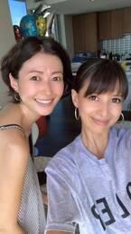 吉川ひなの、田丸麻紀との2ショットを公開「魅力的な人だわ、昔から」