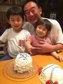 東尾理子、父・修氏の誕生日に息子がケーキ作り「じぃじ、大喜び」