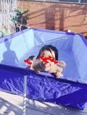 """杉浦太陽、自宅に""""超""""温水プール作り「子どもたち、完全に夏モード」"""