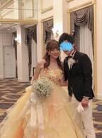 菊地亜美、お色直しのドレス姿公開に「美しい」「すっごくお似合い」の声