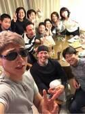 樽美酒研二、アニキと慕う三浦大輔主催のホームパーティーへ