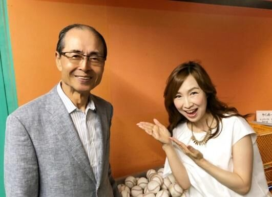 森口博子、王貞治球団会長と2ショット「いつお会いしても、温かいお心遣いに感動」