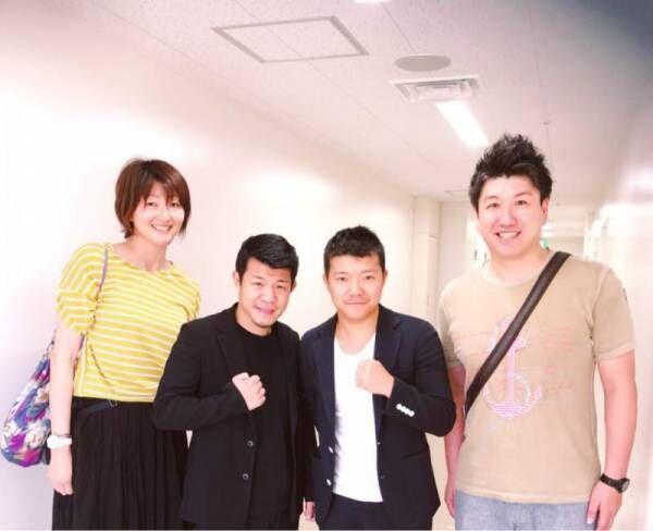 元女子バレー日本代表、亀田兄弟と久々の再会「デカ過ぎだなぁ」