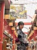 ももクロ・佐々木彩夏、浅草で浴衣ショット公開に「最高です」「めっちゃ可愛い」の声