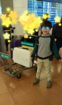 インリン、ミスで7歳の長男が1人で飛行機に 涙止まらず「ごめんね」