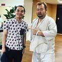 三遊亭とむ、入院中のハチミツ二郎をお見舞い「驚異の回復力!」