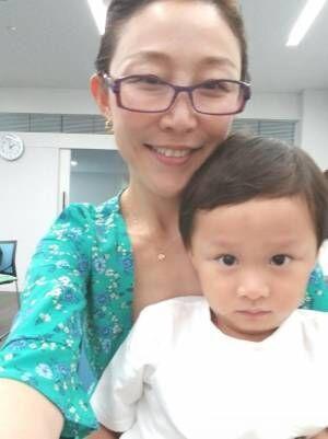 小原正子、長男の3歳児健診へ「誠希千らしい優等生な対応」