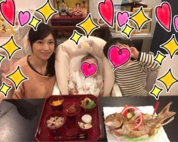 飯田圭織、娘のお食い初めを報告「生後100日をかなり超えてしまいましたが」