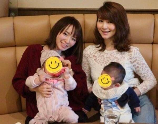 紺野あさ美、テレ東先輩・秋元玲奈と子連れランチ「数ヶ月違いなので、話題が近い」