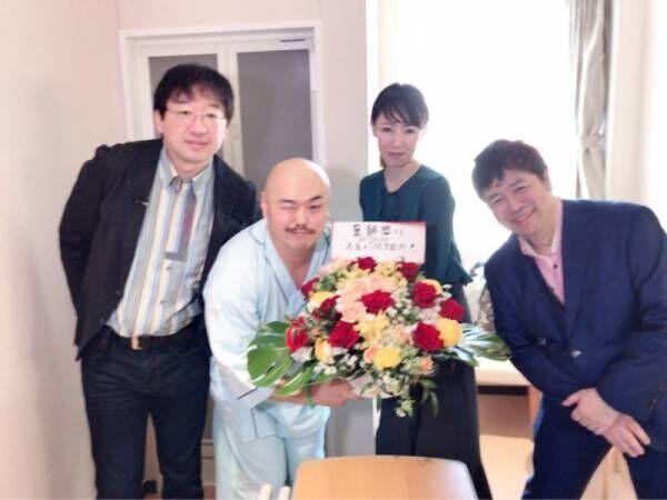 クロちゃん『教育入院』で医師に感謝「健康になりました!」