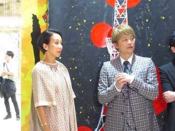 中村江里子、香取のパリ初個展で稲垣・草なぎと再会「子供たちも連れてまた行こう」