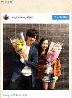 桐山漣、板野友美との2ショットにファン歓喜「W以来」「最高かよ!!!」の声