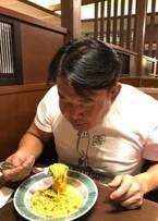 花田虎上、休肝日にパスタを3皿完食「すごい」「さすが元力士」の声