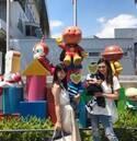 小倉優子、桜井裕美と子連れでアンパンマンミュージアムへ「成長が面白いです」