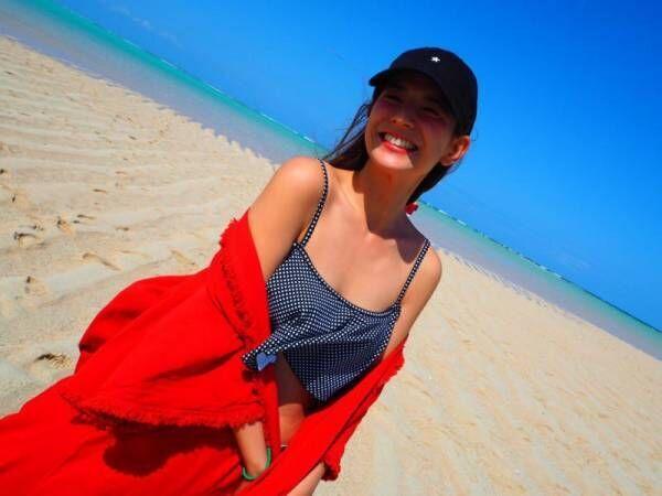 スザンヌ、与論島の絶景スポットに感動「天国ってきっとこんな場所」