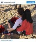 土屋太鳳、石井杏奈を後ろから抱きしめる写真を公開「距離感に萌えます」の声