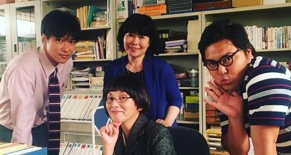 夏木マリ『中学聖日記』の集合ショット公開「美術スタッフにも、凄いなと感謝」