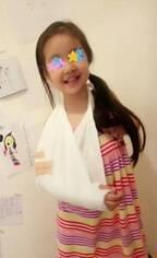 インリン、4歳の娘がケガをし全身麻酔で手術「肘が明らかに変な方向に向いていて」