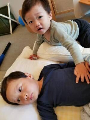 小原正子、長男が胃腸炎に 初めての経験にあたふた「早く早く早く元気になあれ!」