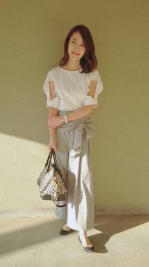 細川直美、娘の学園祭を訪問時のコーデを公開「モデルみたい」「一段ときれい」の声