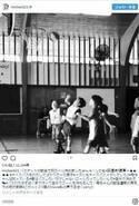 梨花、息子がバスケの試合で初ゴール決め興奮「私の声うるさくsorry」