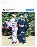 神田うの、安倍首相が主催の「桜を見る会」で美川憲一と着物姿を公開 アイライン入れ忘れる