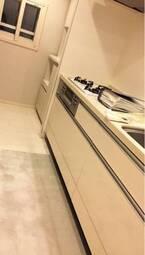 矢部みほ、新居に購入したキッチン収納を公開「備え付けみたい」