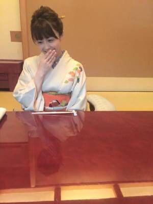 小林麻耶、和装でほほえむ姿に称賛の声相次ぐ「可愛い!」「息子のお嫁さんに来て」