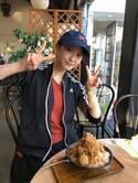 松井玲奈、帰省し父親と和菓子屋へ「とてもとても美味しかった」