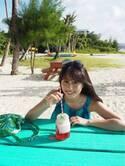 ももクロ・佐々木彩夏、グアム撮影のオフショット公開に「可愛くて見とれちゃう」の声