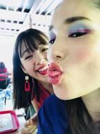 """平野ノラ、藤田ニコルとの""""キス""""写真4連投「かわいい」「カワハギみたい」の声"""