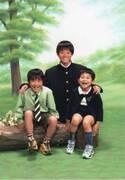 中学1年生の頃の菅田将暉 3兄弟写真を父親が公開「お気に入りの一枚です!」