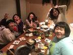 安藤なつ、森三中・黒沢や島崎和歌子らと忘年会「来年も宜しくお願い致します!よいお年を!」