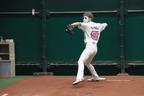 樽美酒研二、135キロ始球式を自己分析「球速アップの可能性はある」
