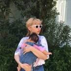 ぺこ、義姉からもらった息子の服で親子コーデ「素敵!」「とってもかわいい」の声