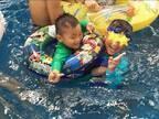 くわばたりえ、プールで孫と遊ぶ父の姿に「泣けてきた」