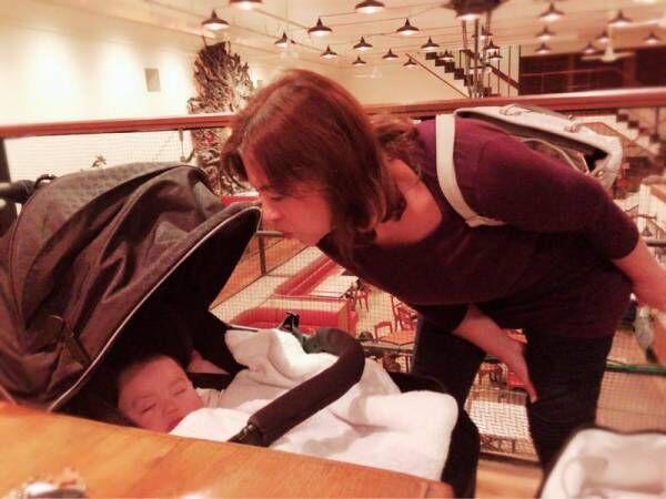 川崎希、アレクママが息子にスペイン語で話しかけることを告白「勉強になりそう」