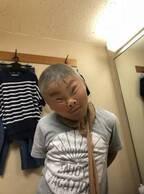 小原正子、ストッキングを被り楽しませる相方の長男を絶賛「さすが、優しさの塊」