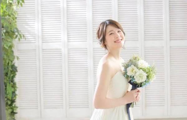 相沢まき、ドレス&和装で撮ったウエディングフォト公開「新鮮でした」