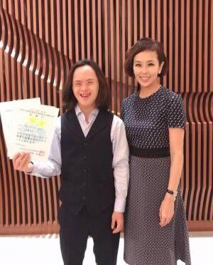金子エミ、ダウン症の息子が世界大会出場「今も今後も、サポートをし続けて行きたい」