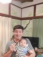 Wエンジン・えとう窓口、里帰り出産の妻が息子と帰宅「3ヶ月ぶりに富津に帰ってきてくれました」