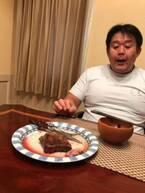 花田虎上、500グラムのステーキが食べられなくなり「あれ?どうしたのでしょう」