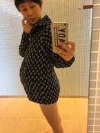 東尾理子、妊娠9ヶ月のぽっこりおなか公開「すごい息切れ」