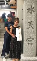杉浦太陽、妻と第4子の安産祈願のため神社へ「健康で産まれてきてくれますように…」