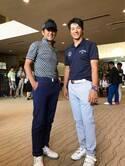 高橋克典、レジェンドチャリティゴルフで石川遼と2ショット「とても優しく、人当たりのいい青年」