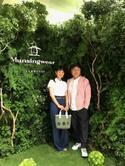 石黒彩、夫・真矢とパーティーで2ショット「二人でお店を楽しんで来ました」